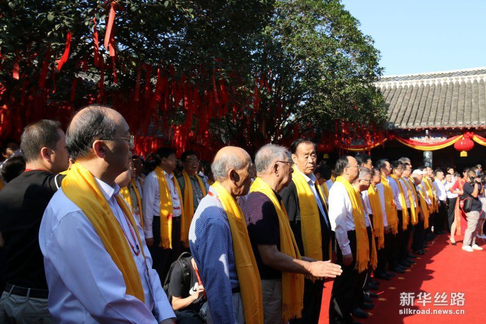华佗诞辰1891周年祭祀活动现场。摄影:赵欣