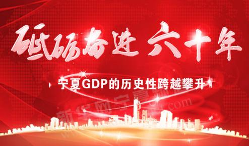 聚焦宁夏60年|宁夏GDP的历史性跨越攀升