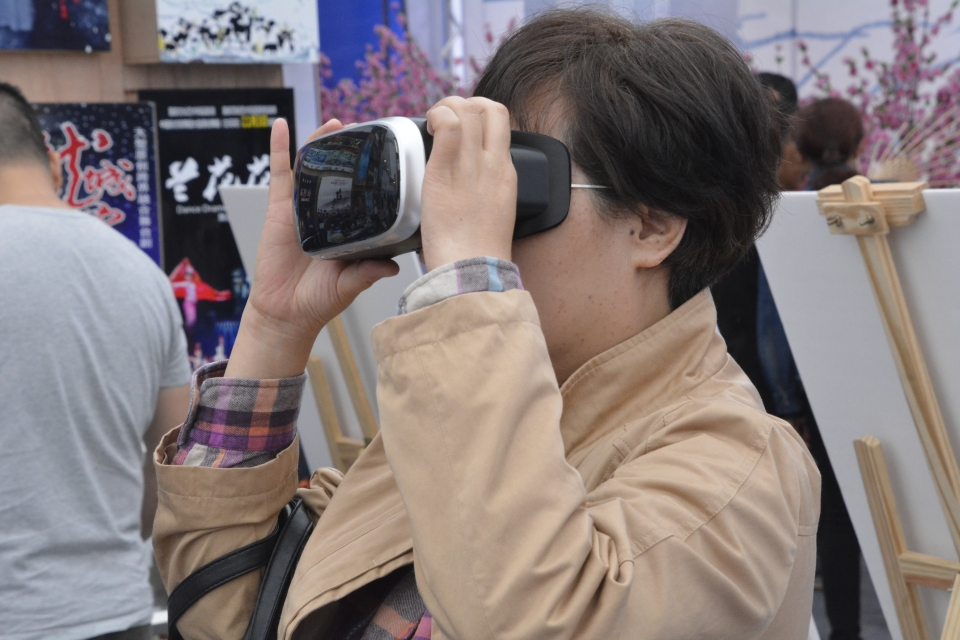 VR体验 摄影:张涛