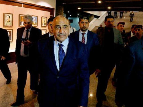 伊拉克新总理宣誓就职