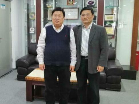 中非莱基拜访中国国际商会