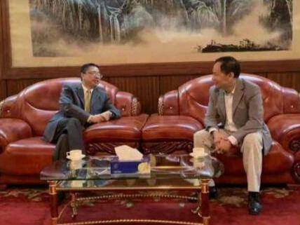 莱基自贸区总经理黄习工拜会中国驻拉各斯总领事巢小良