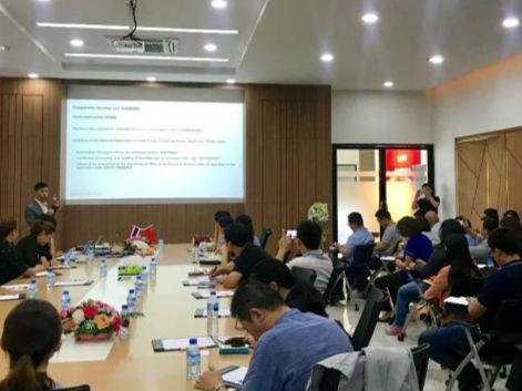 德勤泰国事务所在泰中罗勇工业园办公室开展法税务谈会