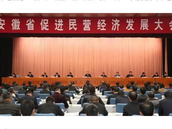 安徽推出30条促进民营经济发展意见