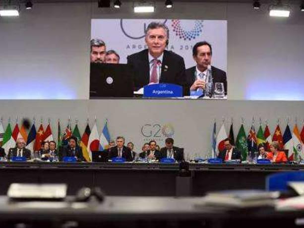 阿根廷总统呼吁二十国集团为下一个10年建立共识