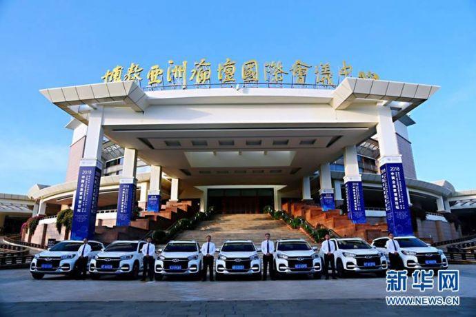 奇瑞瑞虎8荣膺2018中国企业家博鳌论坛官方指定用车2