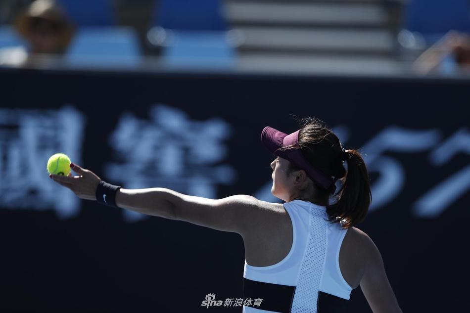 2019年1月14日,2019澳网,女单王雅繁2-0佩雷兹,比赛在墨尔本公园举行。新浪体育 李欣/摄(发自墨尔本)