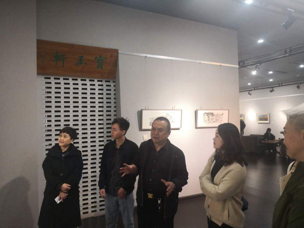 同行 |张敏良·孙涛双人画展于3月30日在西部美术馆开幕
