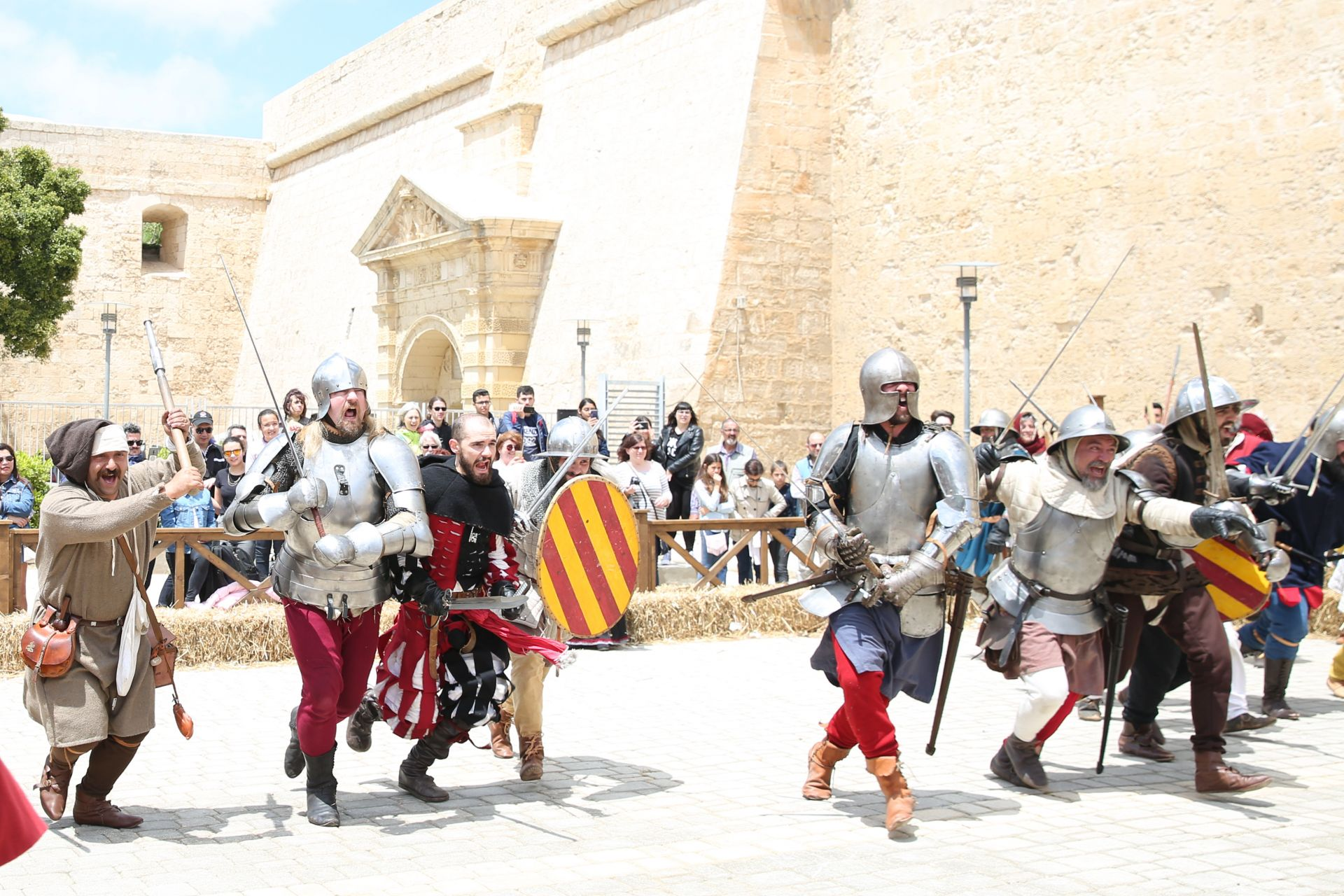 马耳他举行姆迪纳中世纪文化节