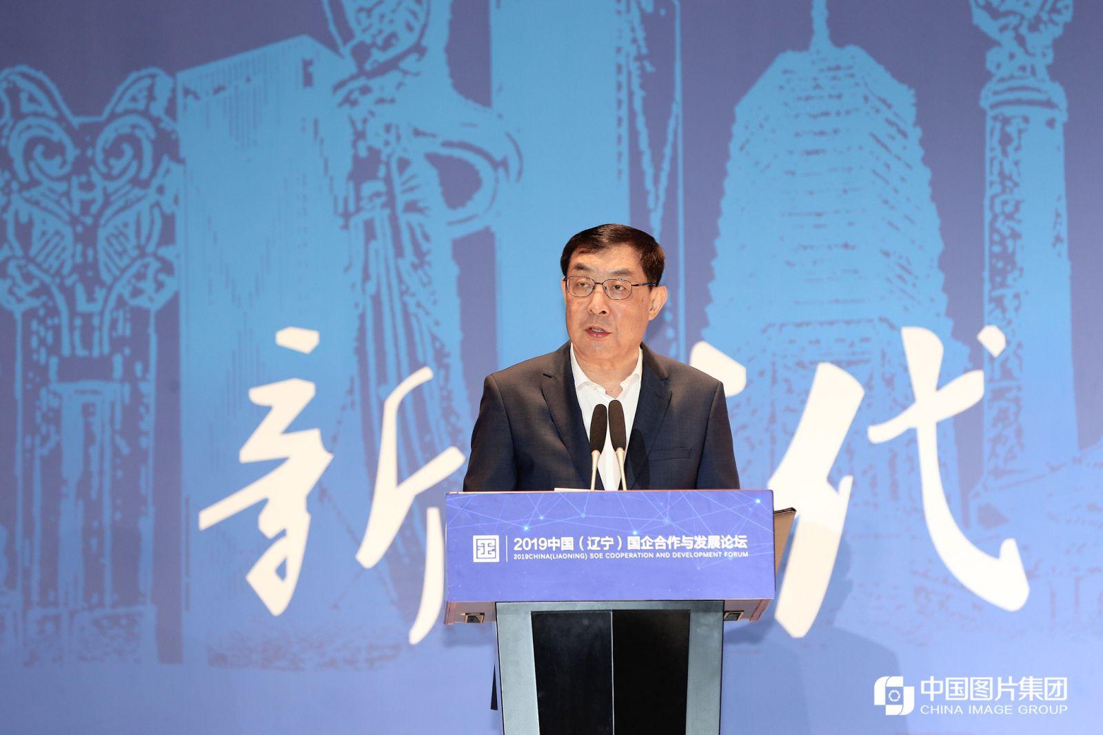 十二届全国政协副主席马培华致辞。