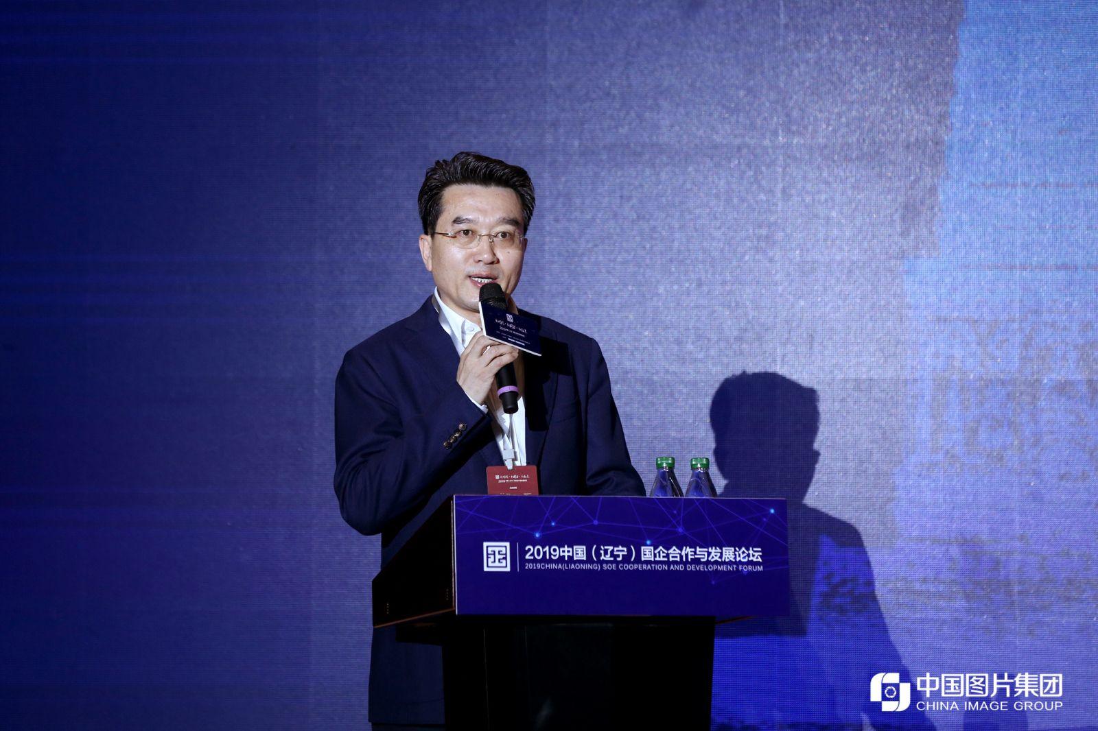 沈阳市人民政府副市长王广生致辞。