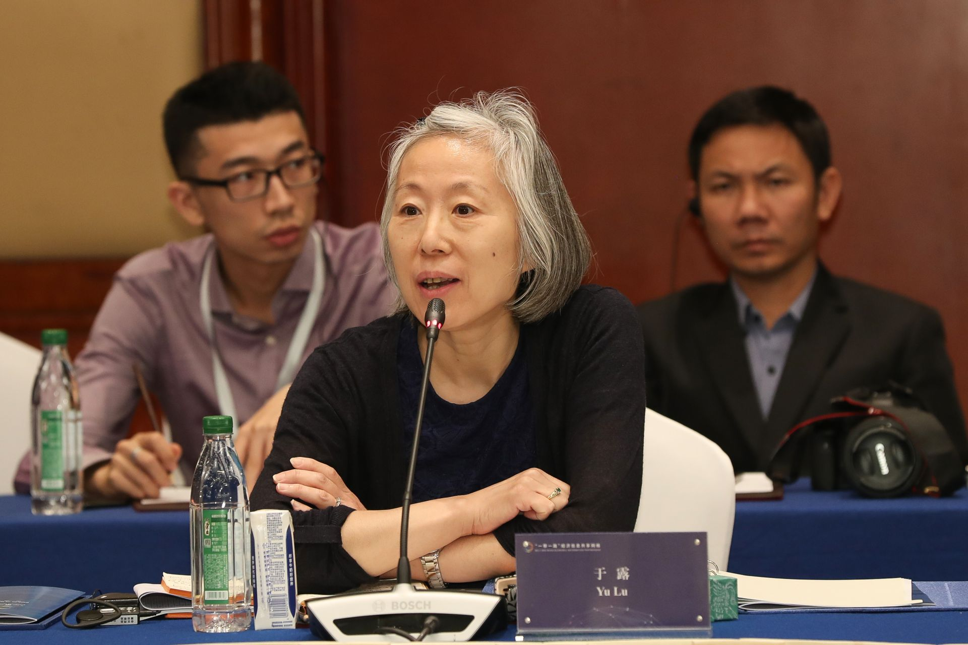 于露  中国食品土畜进出口商会副会长兼发言人