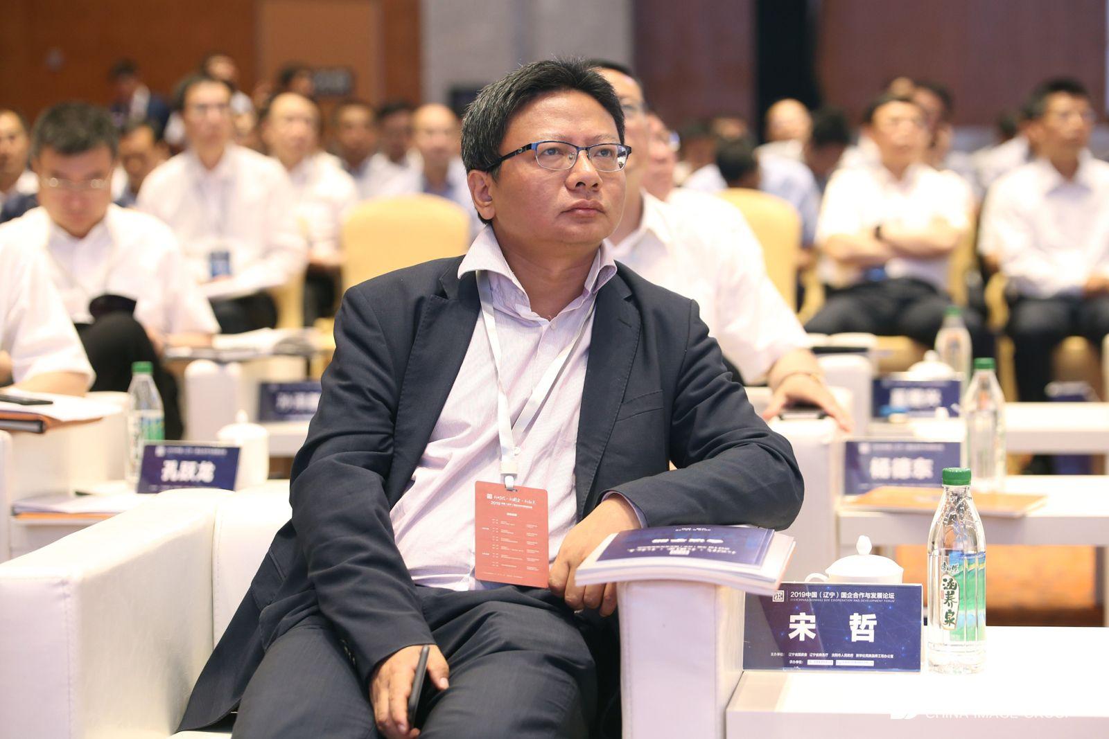 中白工业园驻中国总代表宋哲。