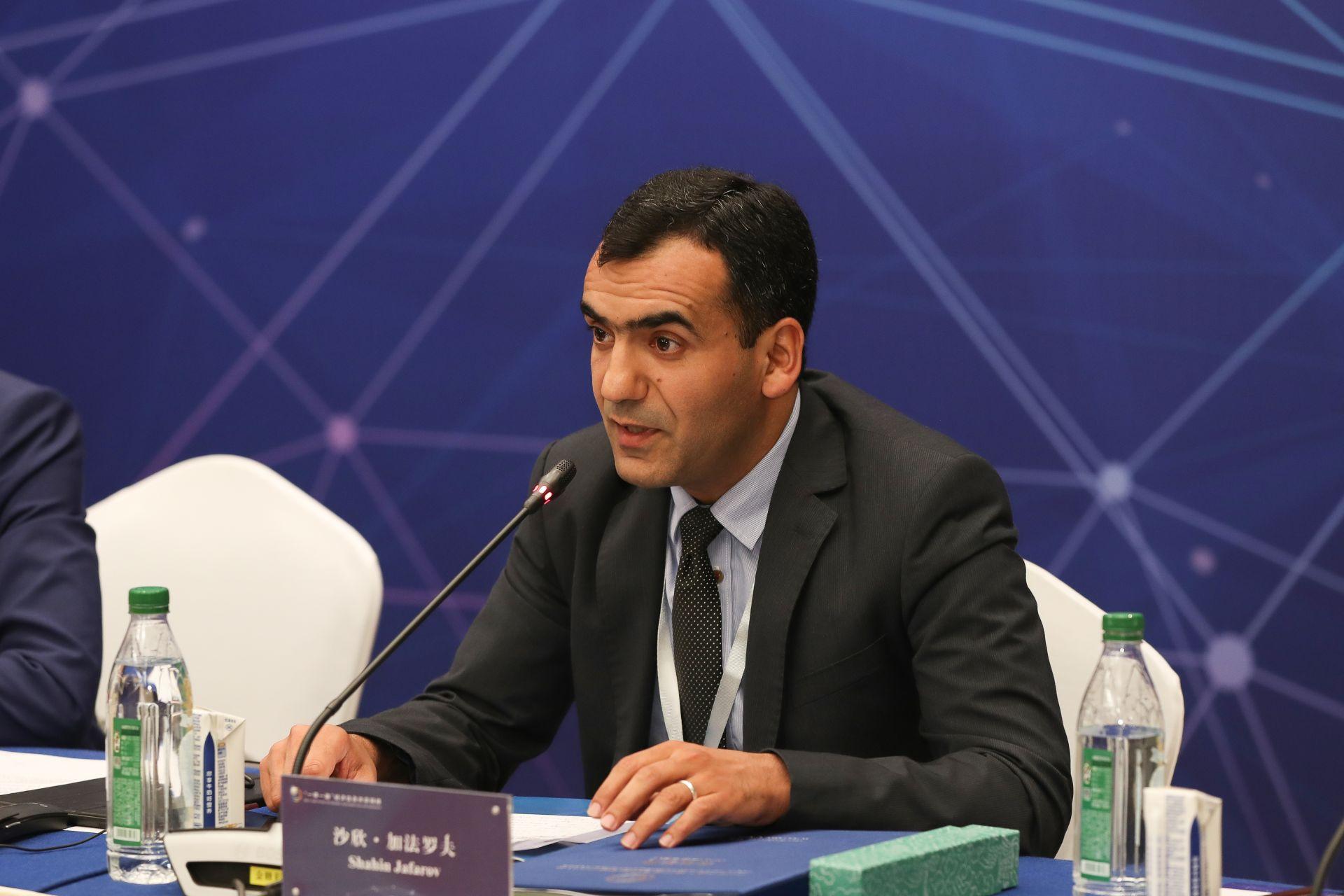 沙欣•加法罗夫   阿塞拜疆通讯社中国区负责人