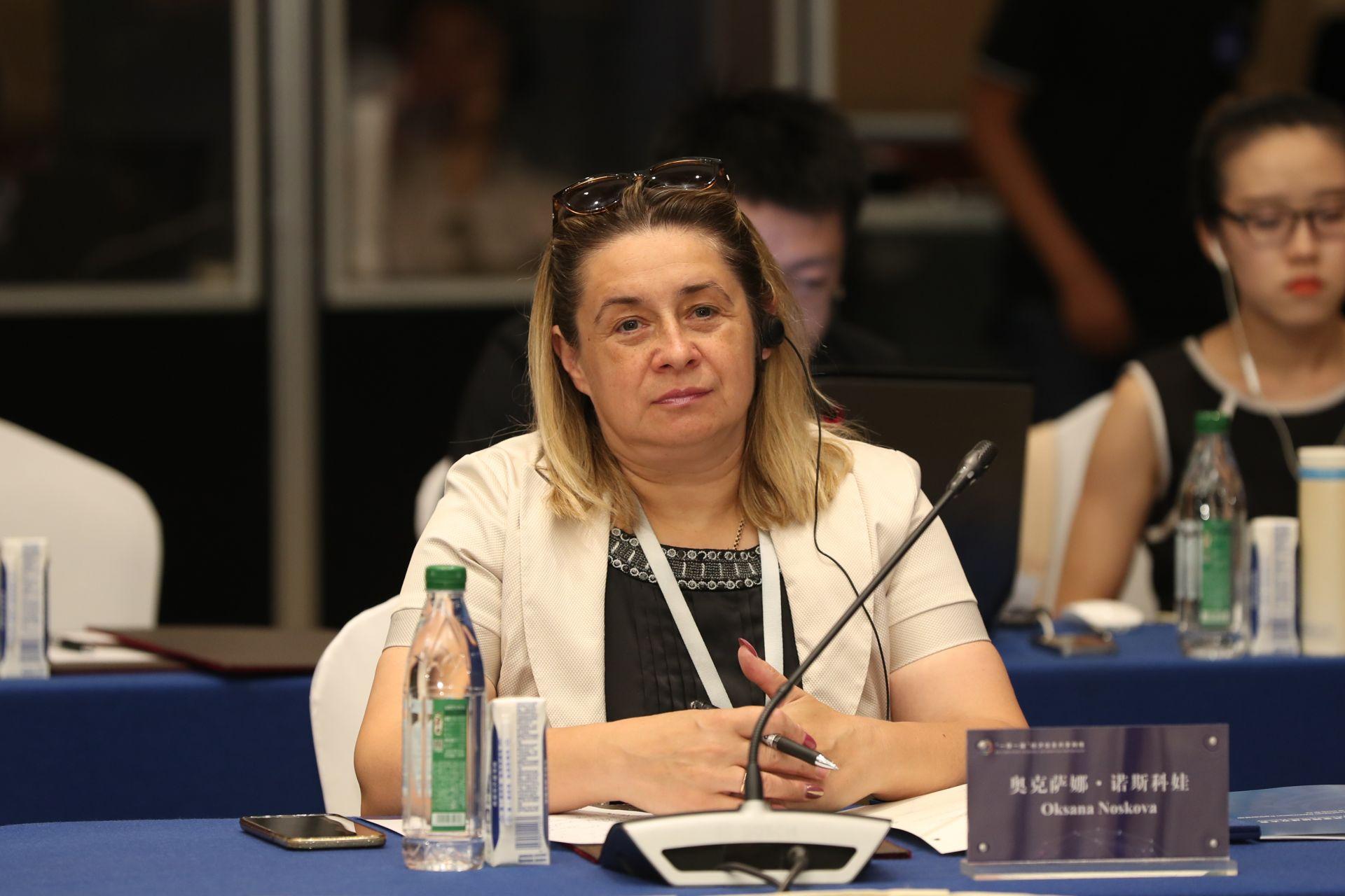 奥克萨娜•诺斯科娃   乌克兰通讯社副社长