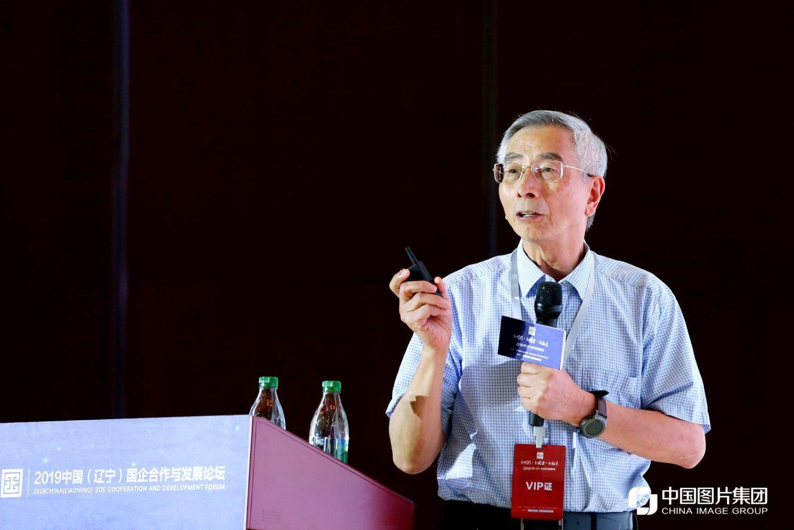 中国工程院院士倪光南进行主旨演讲。