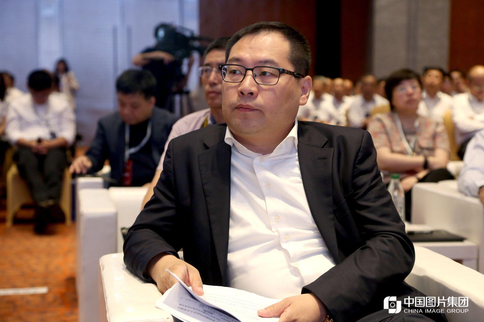中俄地区合作发展投资基金董事长王峰。