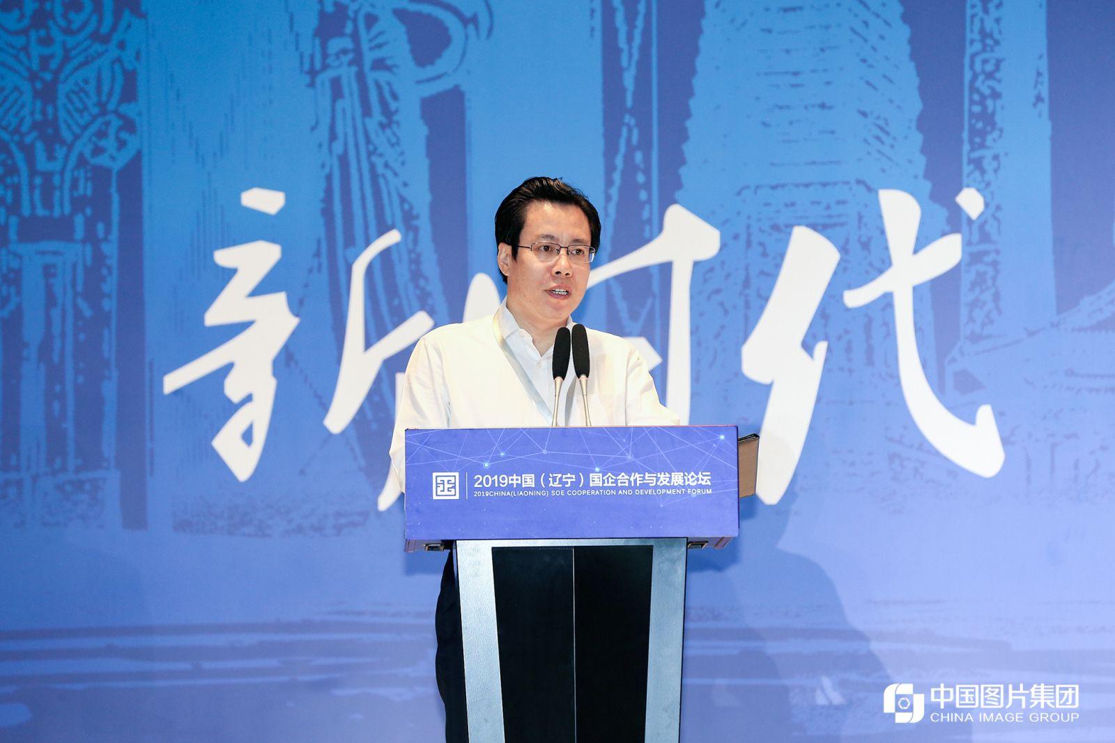 中共沈阳市委副书记、沈阳市人民政府市长姜有为致辞。