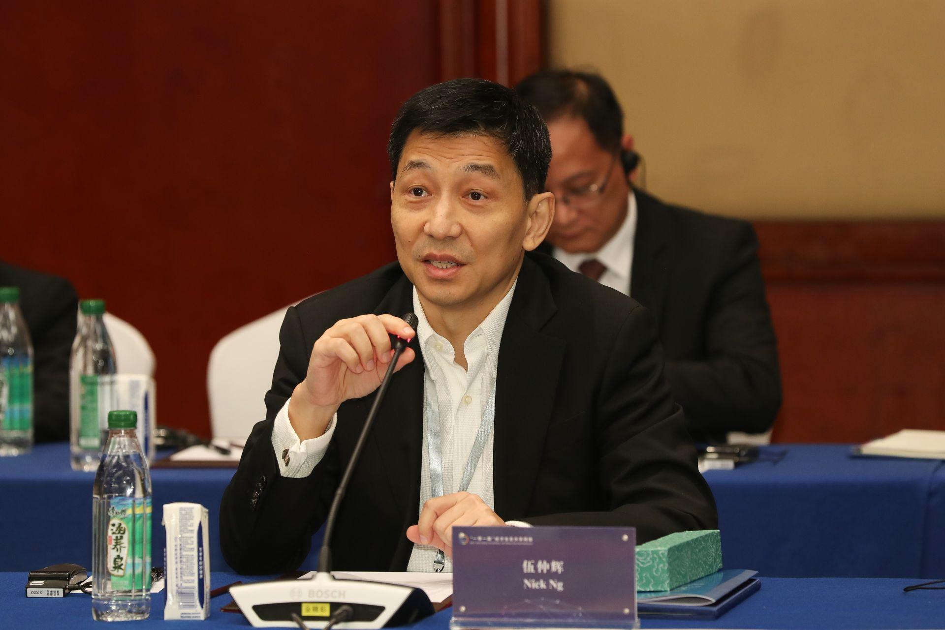 伍仲辉  香港新华财金社总裁