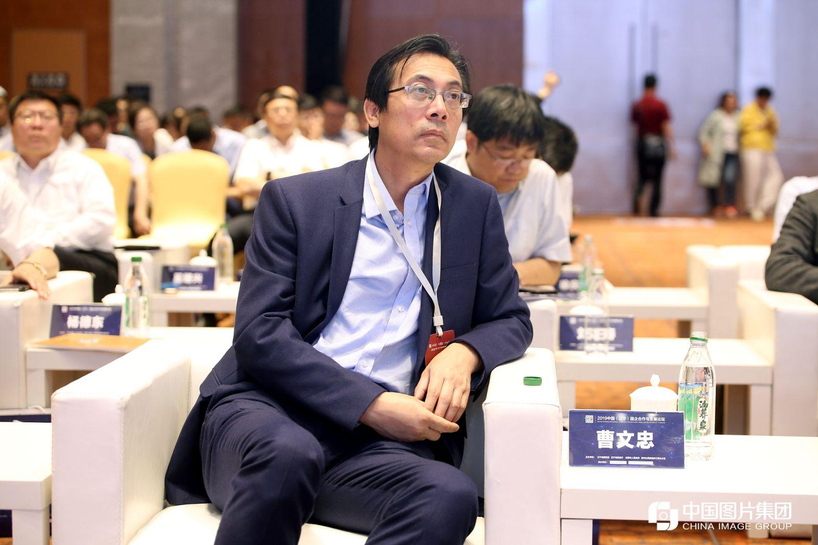 新华社中国经济信息社董事、副总裁曹文忠。