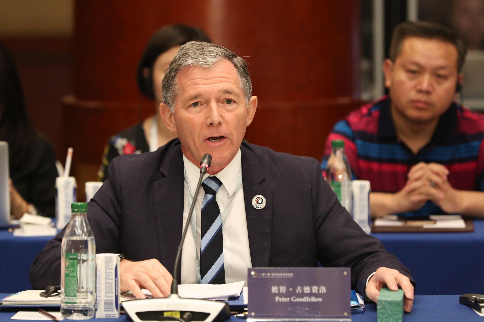 彼得•古德费洛     新西兰国际展望联合会全球主席团主席