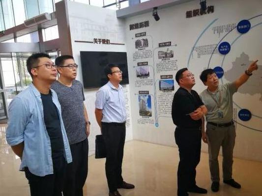 山东河口经济开发区考察团赴天津市考察学习