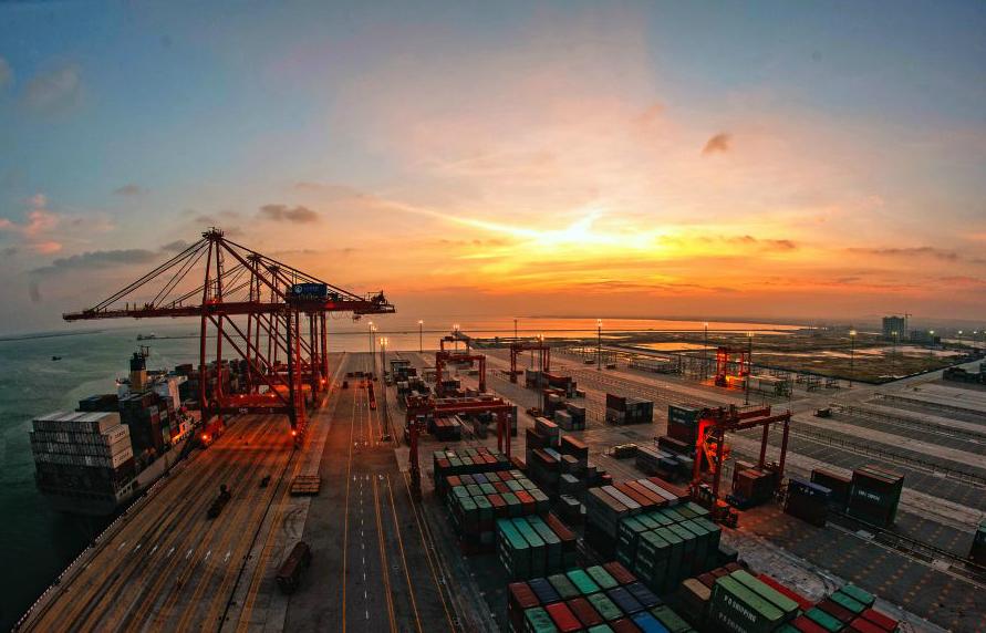 湛江港集装箱码头