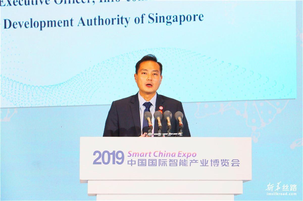 新加坡资讯通信媒体发展总局局长陈杰豪作主题演讲