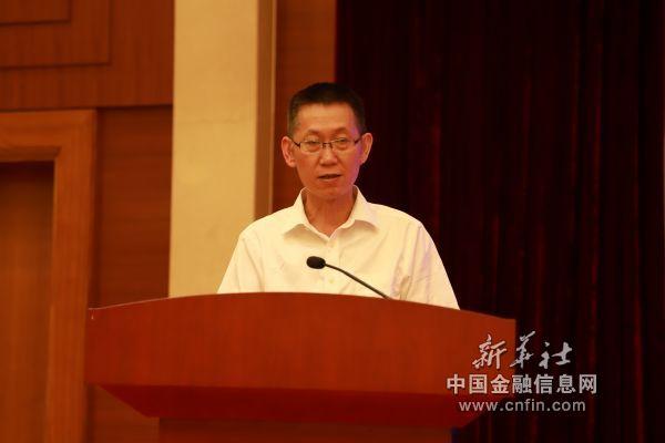 贵州省投资促进局副局长余显强致辞(陈泽劲   摄 )