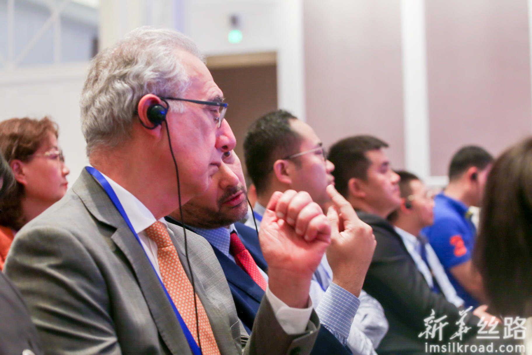 第三届中国—阿拉伯国家工商峰会现场嘉宾。