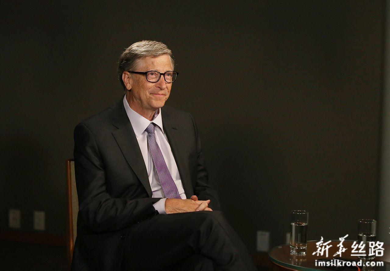 11月13日,在美国西雅图,比尔及梅琳达·盖茨基金会联席主席比尔·盖茨接受新华社记者专访。新华社记者 秦朗 摄