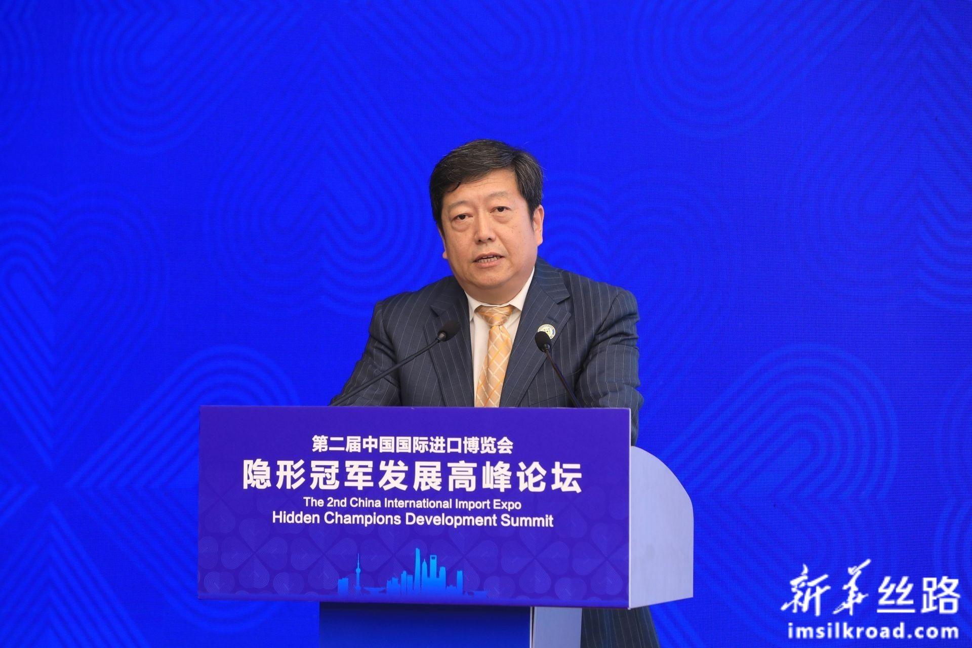 国家市场监督管理总局质量发展局局长黄国梁先生致辞