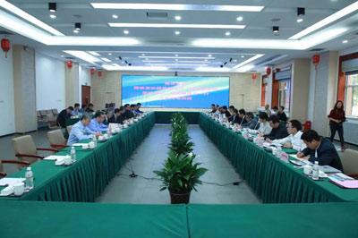 国家能源局党组书记、局长章建华一行到哈电集团调研指导工作
