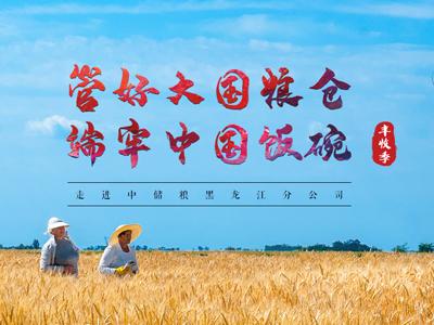 管好大国粮仓 端牢中国饭碗 ——走进中储粮黑龙江分公司
