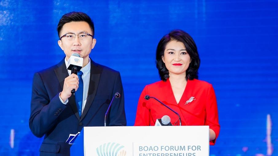 2019中国企业家博鳌论坛开幕式及学者分享会现场图片。