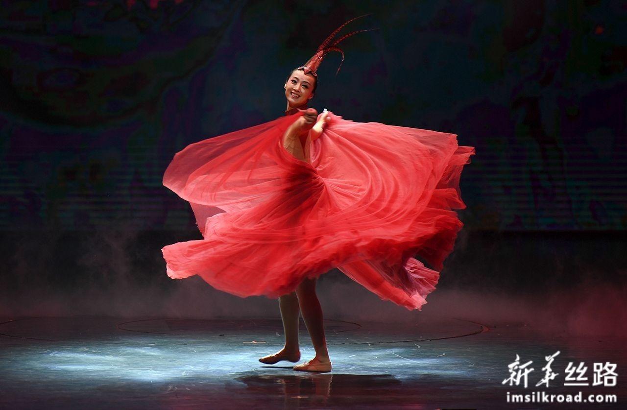 第二届海上丝绸之路国际舞蹈艺术交流周开幕式在福州举行