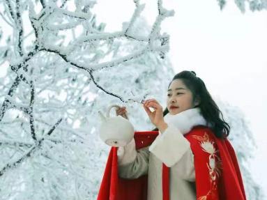 大型冰雕、冰雪火锅、民俗文化巡游......四川洪雅县瓦屋山冰雪嘉年华今日正式启动!