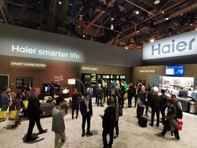 海尔亮相美国2020年国际消费电子展