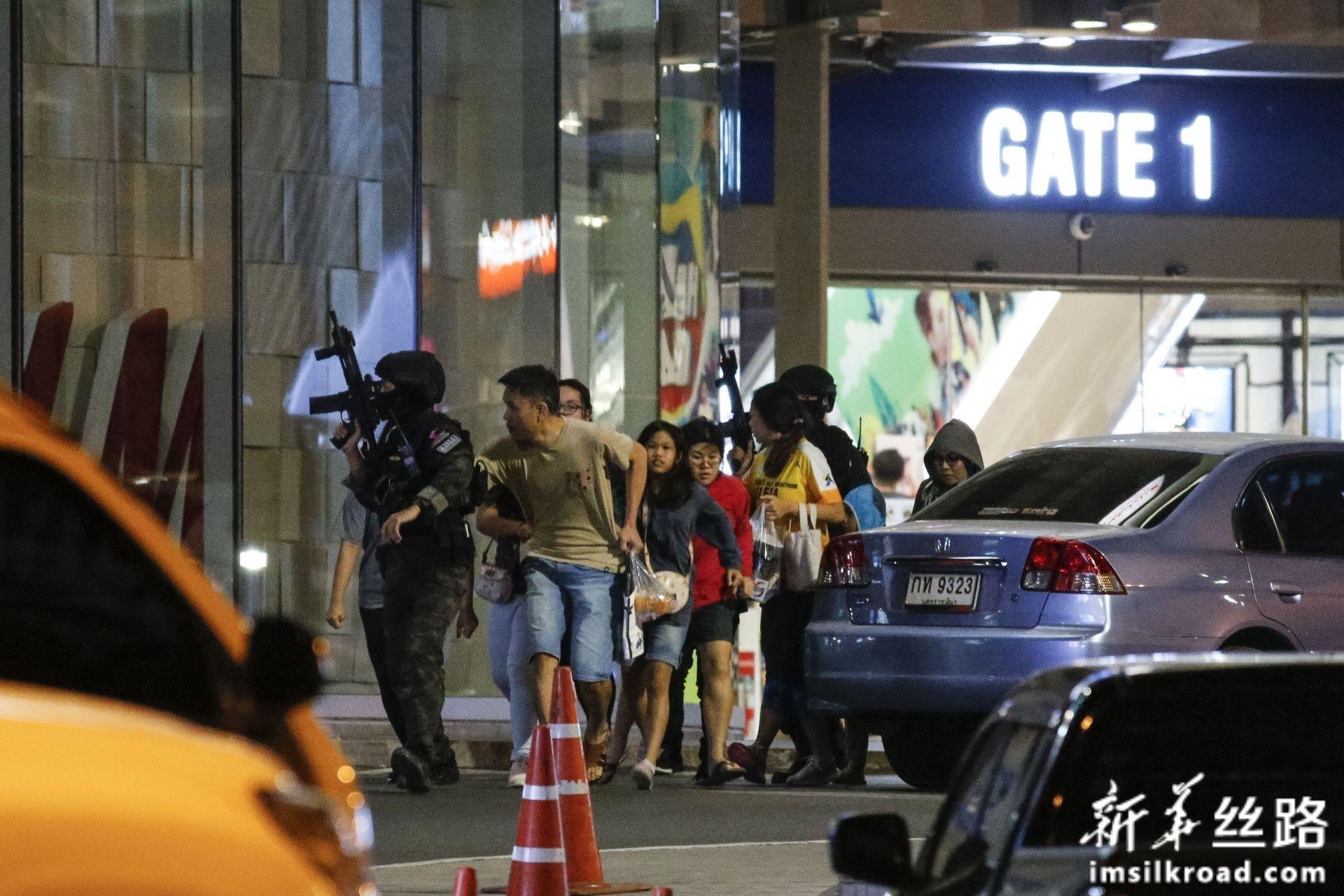 泰国呵叻府枪击事件凶手被击毙