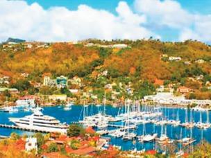 加勒比海上的一颗璀璨明珠