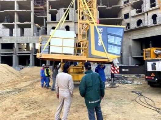 深耕全球 徐工塔机批量进驻埃及新首都项目