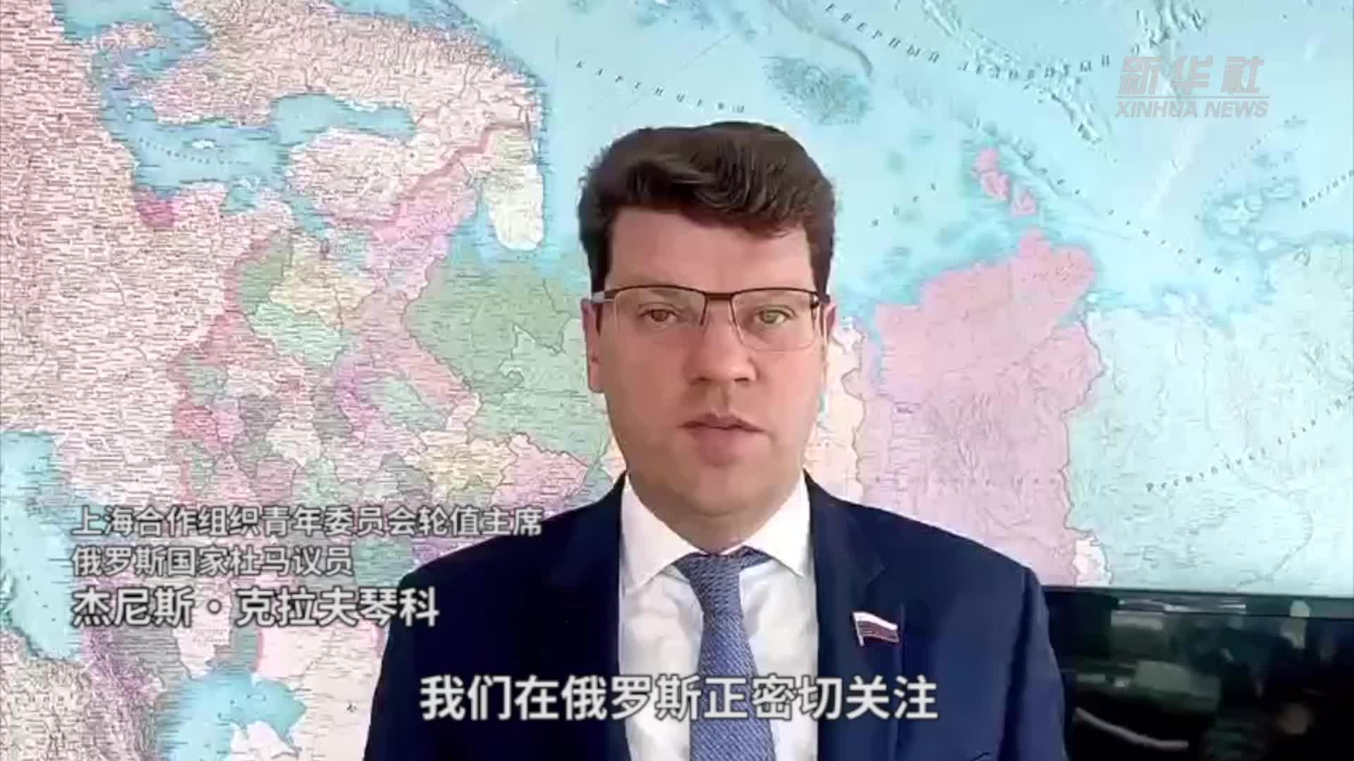 """上海合作组织青年委员会:感谢参与战""""疫""""的青年们"""