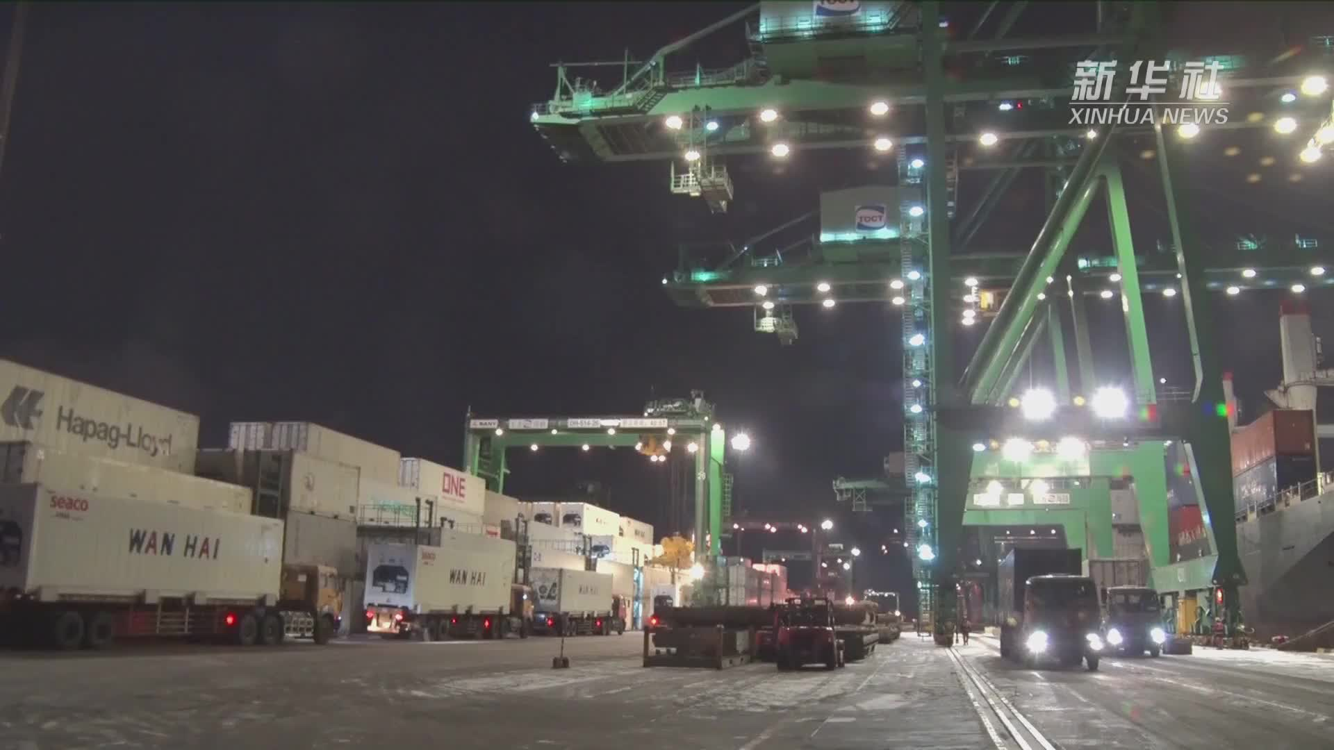 天津港开辟疫情防控救援物资绿色通道