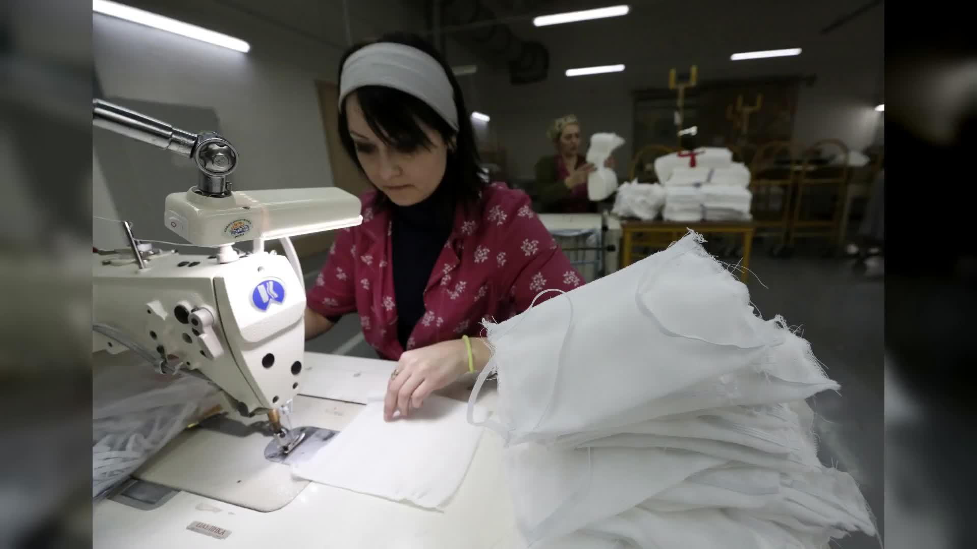 新华丝路看世界 | 白俄罗斯口罩生产过剩