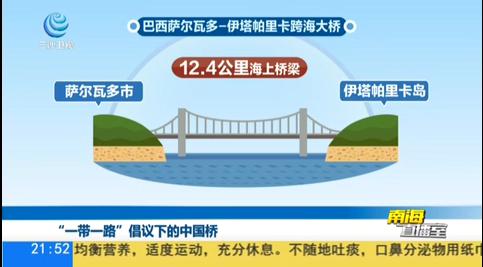 """""""一带一路""""倡议下的中国桥"""