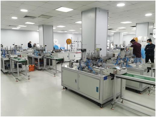 中埃合作口罩生产线投产  项目方关注更广阔市场