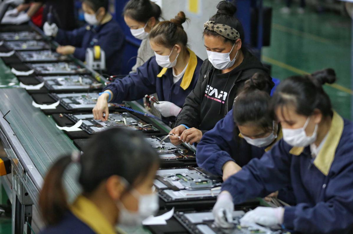 出口疲软不会阻碍中国制造业复苏