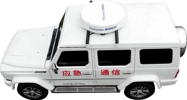 安徽合肥高新区一企业牵手北汽越野推出相控阵卫星通信车