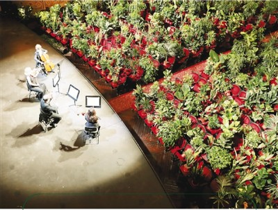 巴塞罗那:为绿植举办音乐会