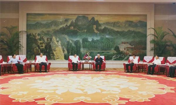 深化央地合作 斯泽夫带队拜访天津市人民政府